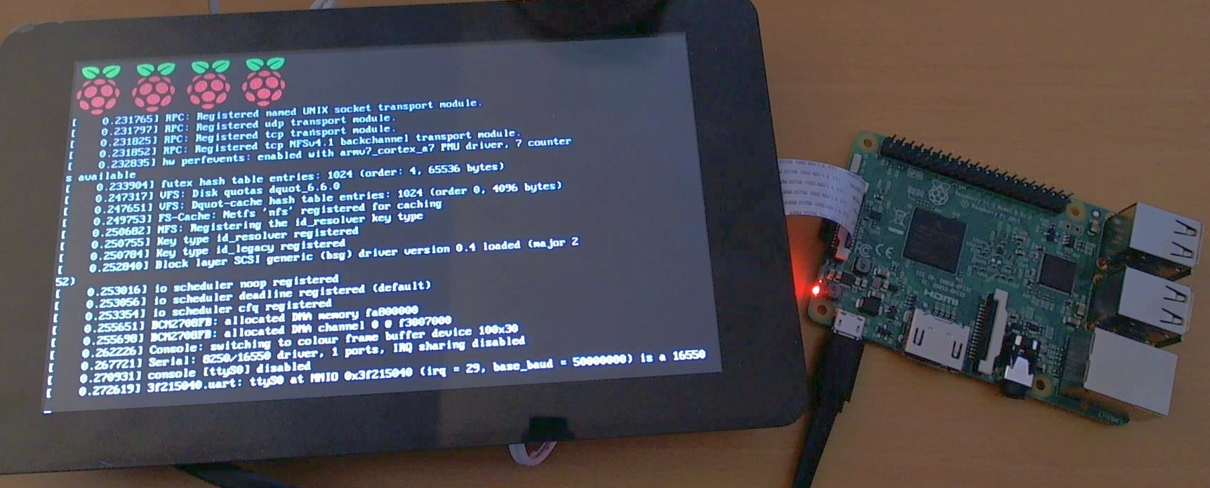 Raspberry Pi Touch Screen How To Connect Video