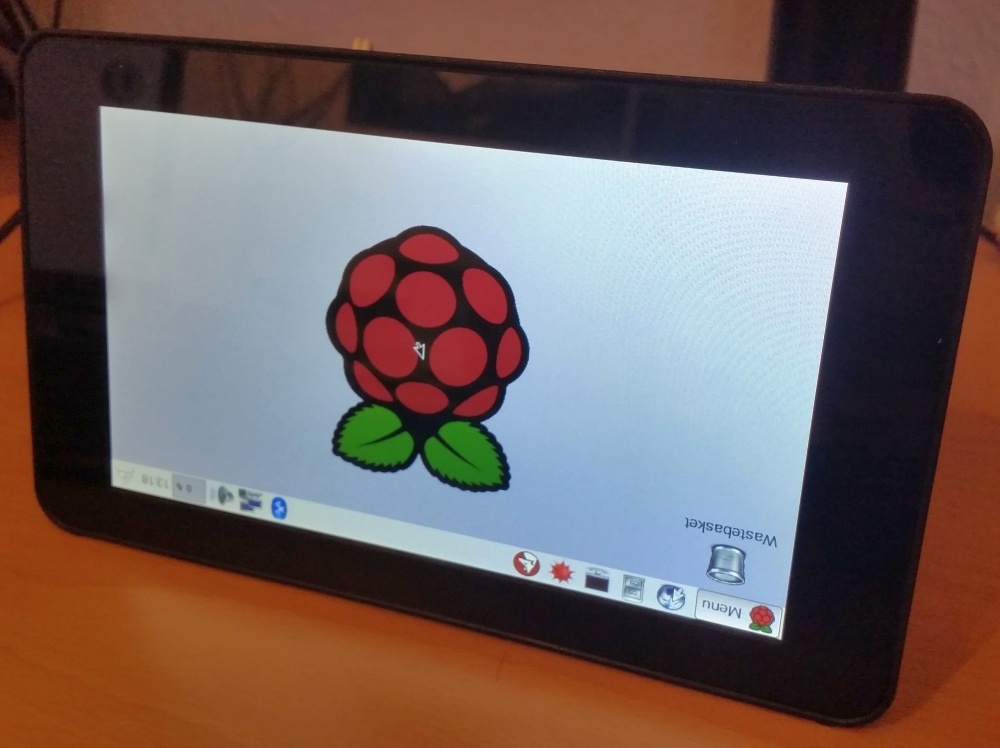 upside down raspberry pi screen